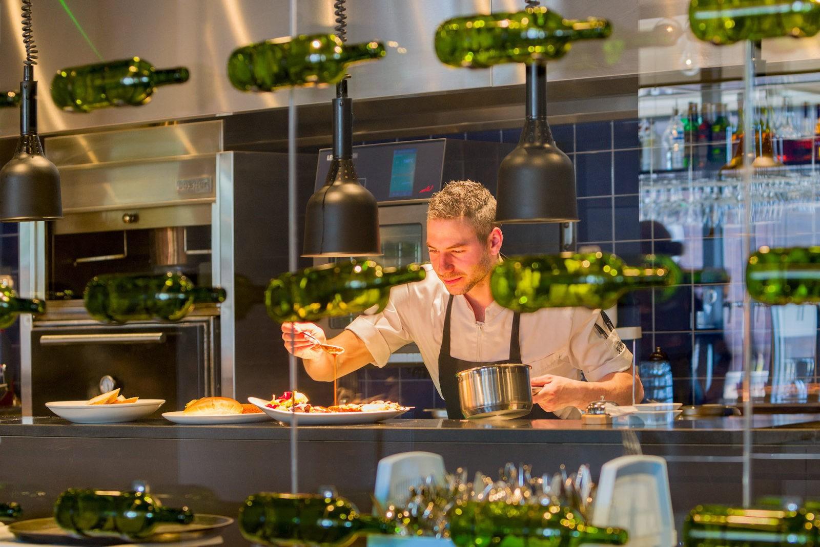 Grand Cafe Du Nord Kaatsheuvel keuken