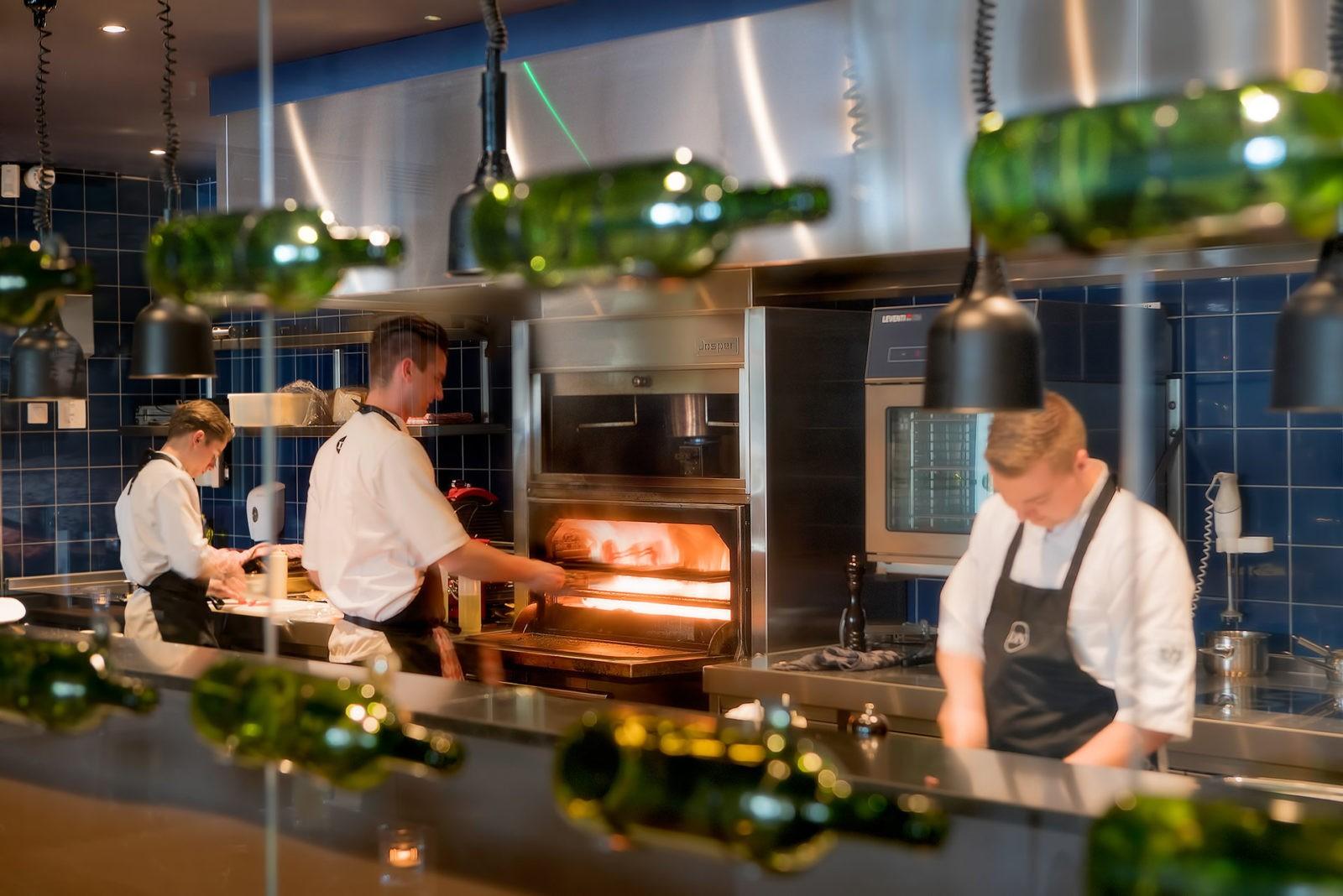 Grand Cafe Du Nord Kaatsheuvel keuken Josper